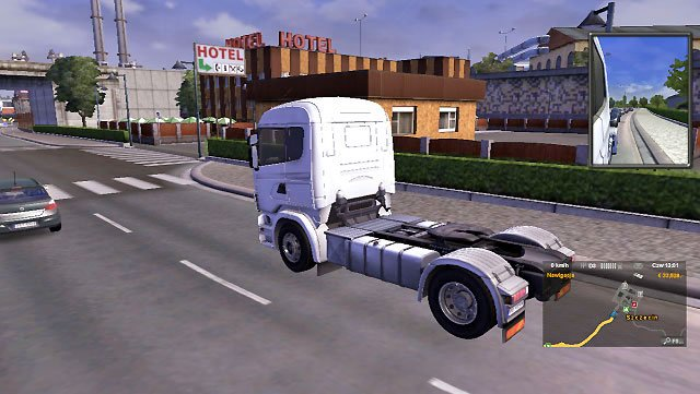 When a driver gets tired, special messages are displayed - Drivers rest | Driving your truck - Driving your truck - Euro Truck Simulator 2 Game Guide