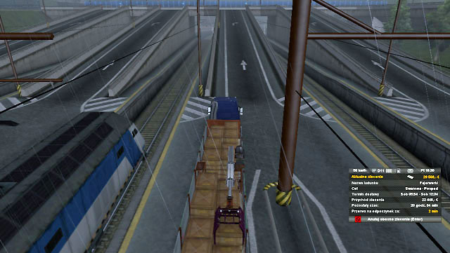 You will be transported to the other end of the tunnel - Ports and Eurotunnel (Map) | Map - Map - Euro Truck Simulator 2 Game Guide