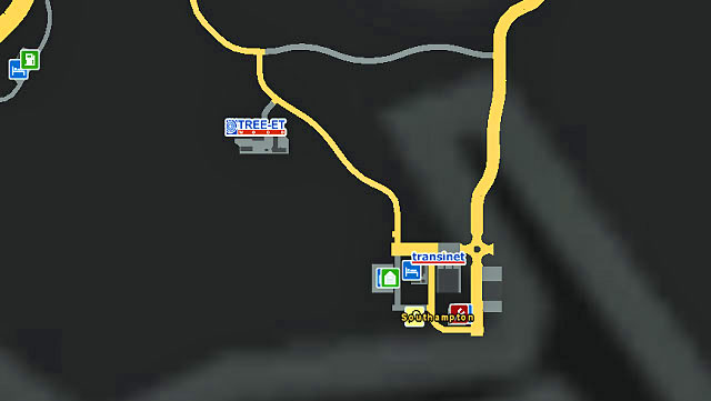 It is a small city located in southern part of the country near London - Great Britain | Cities - Cities - Euro Truck Simulator 2 Game Guide