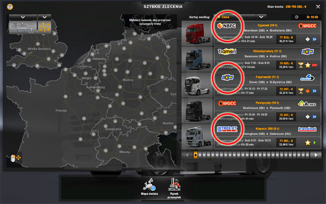 6 - Steam achievements (100%) | First steps - Achievements Guide - Euro Truck Simulator 2 Game Guide