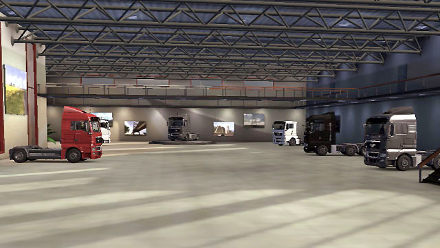 The game offers seven truck models, one of each make - Truck models | Truck dealers - Truck dealers - Euro Truck Simulator 2 Game Guide