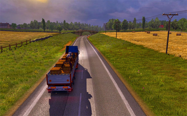 Roads connecting cities may be very dangerous - Types of roads and speed limits | Roads - Roads - Euro Truck Simulator 2 Game Guide