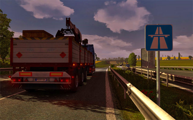 Use mostly highways connecting main cities - Types of roads and speed limits | Roads - Roads - Euro Truck Simulator 2 Game Guide