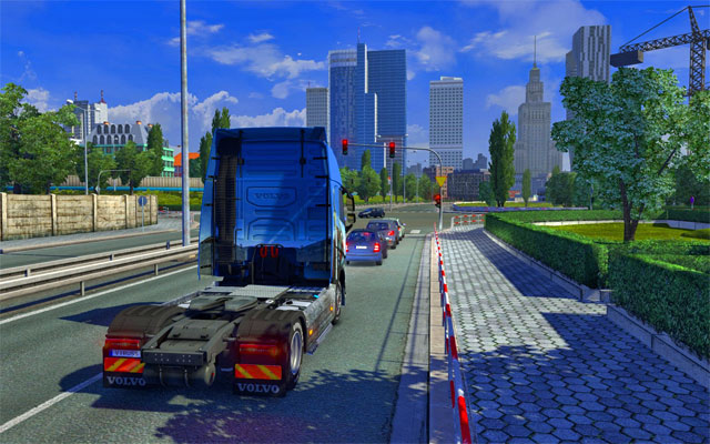 Unfortunately you will waste a lot of time in traffic jams - Traffic jams | Roads - Roads - Euro Truck Simulator 2 Game Guide