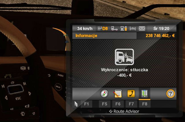 When you travel a lot pay attention to rules as tickets may cost you a lot - Tickets | Roads - Roads - Euro Truck Simulator 2 Game Guide