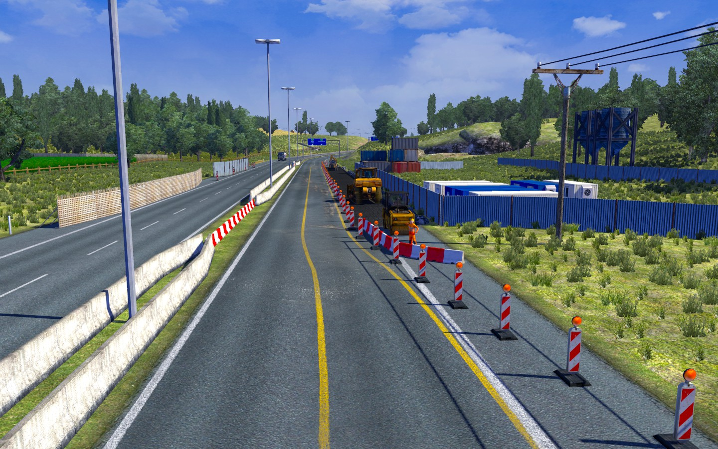 The roads in Belgium, the Netherlands and Luxembourg are very pleasant to drive - Austria, Switzerland and Benelux | Roads - Roads - Euro Truck Simulator 2 Game Guide