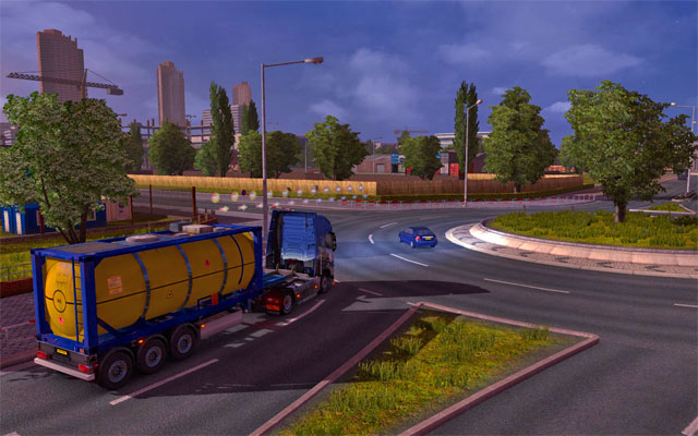 When you get to Great Britain you have to get used to the left hand traffic quickly - Great Britain | Roads - Roads - Euro Truck Simulator 2 Game Guide