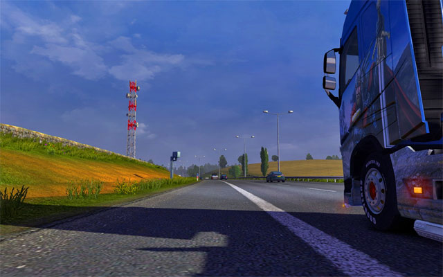 Great Britain has plenty of highways, mostly three-lane roads (which are narrower on the north) - Great Britain | Roads - Roads - Euro Truck Simulator 2 Game Guide
