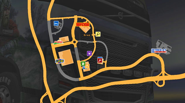 A city located in the southeastern part of Austria - Austria | Cities - Cities - Euro Truck Simulator 2 Game Guide