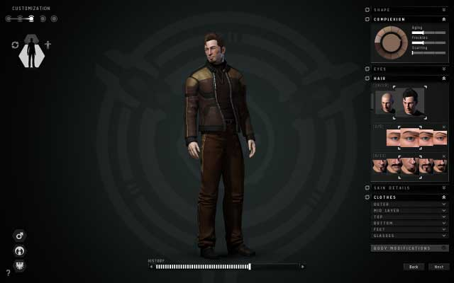 character creation first steps eve online game guide