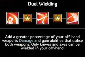 Dual Wielding (SP 3/6/9/12/15) - Offensive Abilities - Abilities - Expeditions: Viking Game Guide