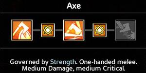 Axe (6/9/12/15/18) - Wielding weapons - Abilities - Expeditions: Viking Game Guide