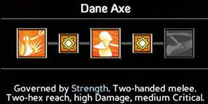 Dane axe (6/9/12/15/18) - Wielding weapons - Abilities - Expeditions: Viking Game Guide