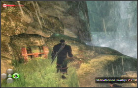 Behind one of the waterfalls. - Treasure Island of Doom! - Side missions - Fable II - Game Guide and Walkthrough