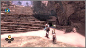 Climbing the next staircase, you will reach a fork in the road - The Veiled Path - Aurora Flowers - Fable III - Game Guide and Walkthrough