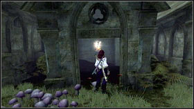 After entering the Ossuary (requires Gone, but Not Forgotten), take a look around the crypt on the left [1] - Mourningwood - Silver Keys - Fable III - Game Guide and Walkthrough