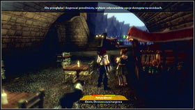 To the second one, return to where you appeared after the teleporting here and cross the bridge to the other side [1] - Bowerstone Market - Silver Keys - Fable III - Game Guide and Walkthrough
