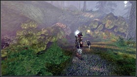 Once you return to the surface, exit the village through the gate beside the Moonshine Cabin [1] - Silverpine - Silver Keys - Fable III - Game Guide and Walkthrough