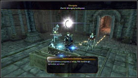 It will lead you to a room with a sarcophagus [1] - Mourningwood - p. 1 - Side Missions - Fable III - Game Guide and Walkthrough