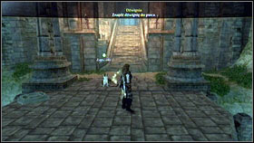 Step onto the first platform and move forward all the time [1] - Mourningwood - p. 1 - Side Missions - Fable III - Game Guide and Walkthrough