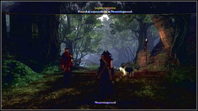 Once you're done with the upgrades, return to the cave and follow the golden trail [1] to Morningwood [2] - Leaders and Followers - p. 2 - Walkthrough - Fable III - Game Guide and Walkthrough