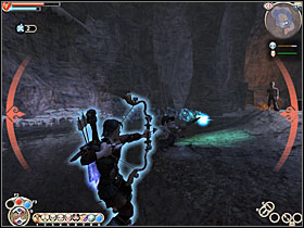 When you enter the cave, enter the first door on the right - Hobbe Cave - Silver Quests - Fable: The Lost Chapters - Game Guide and Walkthrough