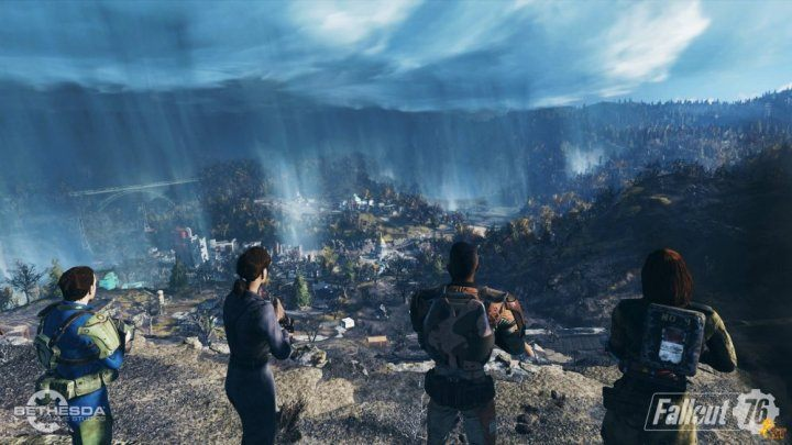 You can explore the world, collect resources and kill monsters with other players - Multiplayer mode in Fallout 76 - Multiplayer - Fallout 76 Game Guide