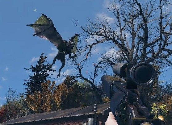 In Fallout 76 players will be able to find nuclear missiles which can be used in closing holes dig by Scorchbeasts, to destroy radioactive areas and other players camps - Weapons in Fallout 76 - Weapons - Fallout 76 Guide