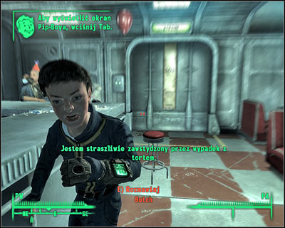 James will soon inform you that he has prepared a reward for you and that you should meet him in the reactor room - Main quests 2: Growing up fast - Main quests - Fallout 3 - Game Guide and Walkthrough
