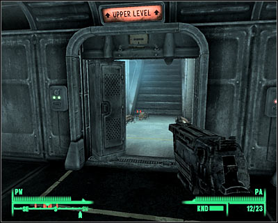 Eventually you'll reach a cell area (5 on the map) - Main quests 4: Escape! - Main quests - Fallout 3 - Game Guide and Walkthrough
