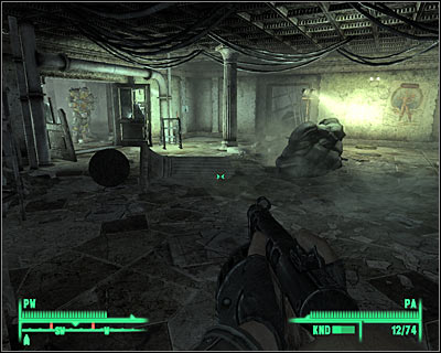 You've just entered the main room of this entire research complex - Main quests 7: Scientific Pursuits - Main quests - Fallout 3 - Game Guide and Walkthrough