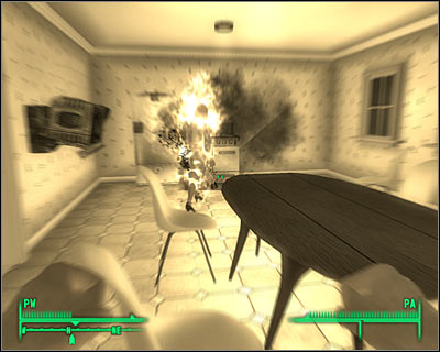 The second option will require you to reprogram a cleaning robot which can be found near the entrance - Main quests 8: Tranquility Lane - Main quests - Fallout 3 - Game Guide and Walkthrough