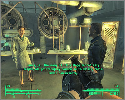 You must travel to the same location as before - Jefferson Memorial - gift shop - Main quests 9: The waters of life - Main quests - Fallout 3 - Game Guide and Walkthrough