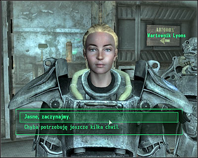 It's rather important that you listen to Sarah's plan - Main quests 13: Take it back! - Main quests - Fallout 3 - Game Guide and Walkthrough