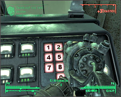 Second ending - Agree to enter the room, apply the virus and input the correct code - Main quests 13: Take it back! - Endings - Main quests - Fallout 3 - Game Guide and Walkthrough
