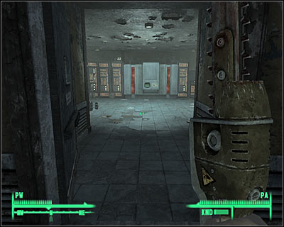 Approach the main computer of the factory and install the processor you've received from Moira - Megaton: The wasteland survival guide (third chapter) - Side quests - Fallout 3 - Game Guide and Walkthrough