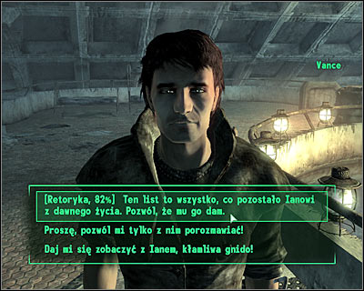 Proceed to an area where Ian is currently standing - Megaton: Blood ties - Side quests - Fallout 3 - Game Guide and Walkthrough