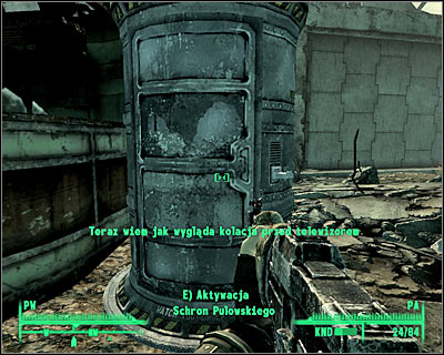 Make sure that you've checked the container behind the diner - Grayditch: Those! - Side quests - Fallout 3 - Game Guide and Walkthrough