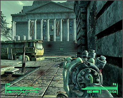 Exploring main floor of National Archives - Rivet City: Stealing independence - Side quests - Fallout 3 - Game Guide and Walkthrough