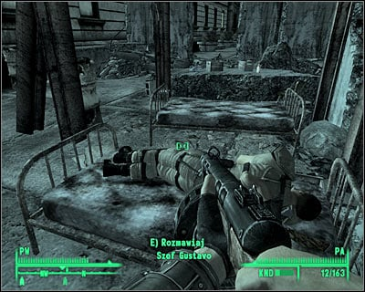 Make sure that you're standing outside, but inside the perimeter - Tenpenny Tower: Tenpenny Tower - Side quests - Fallout 3 - Game Guide and Walkthrough