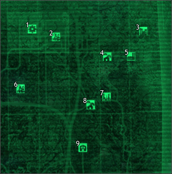 Pin Fallout 3 Map Locations Revealed on Pinterest