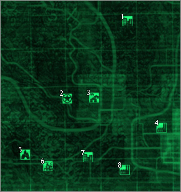 sector 7, sector 8 | Maps of the world - Fallout 3 Game Guide ...