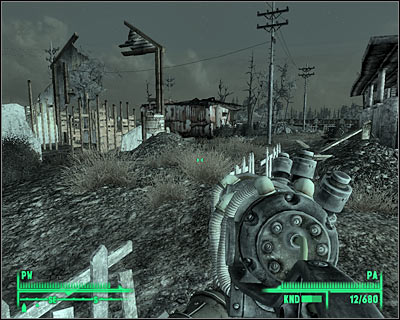 AREAS OF INTEREST - Andale, The National Archives, Arefu - Main locations - Fallout 3 - Game Guide and Walkthrough