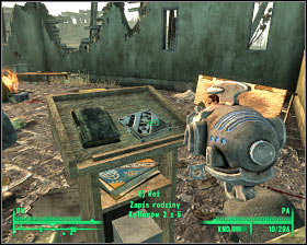 First holodisk - Hallowed Moors cemetery - Rockbreaker's Last Gas, Deathclaw sanctuary, National Guard depot - Main locations - Fallout 3 - Game Guide and Walkthrough
