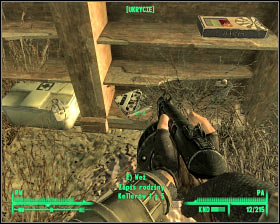 Fifth holodisk - VAPL-58 power station - Rockbreaker's Last Gas, Deathclaw sanctuary, National Guard depot - Main locations - Fallout 3 - Game Guide and Walkthrough