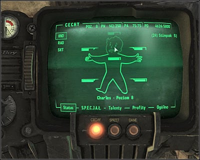 You shouldn't ignore head or limb injuries. - Threats - Other - Fallout 3 - Game Guide and Walkthrough
