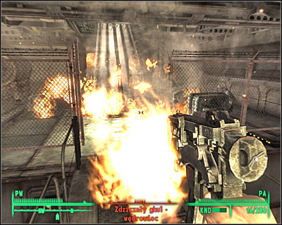 Explosions in your surroundings may both assist as well as harm you. - Useful hints - Combat - Fallout 3 - Game Guide and Walkthrough
