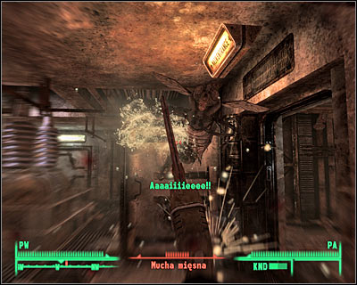 Ripper is good in close combat. Notice that it blocks enemy attacks. - Hints - Equipment - Fallout 3 - Game Guide and Walkthrough