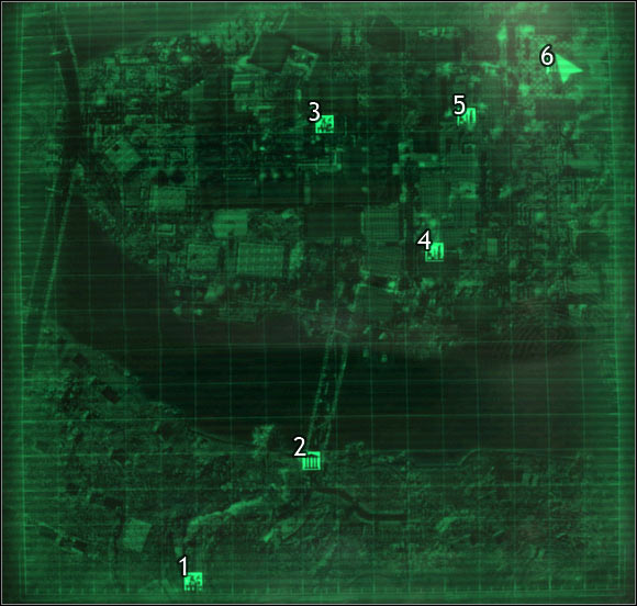 Fallout 3 quest locations map http guides gamepressure com