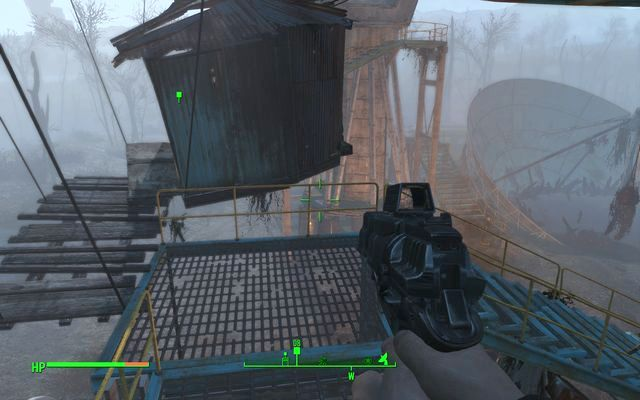 Mutant house attached to the antenna construction - The Lost Patrol - Minor quests for Brotherhood of Steel faction - Fallout 4 Game Guide & Walkthrough